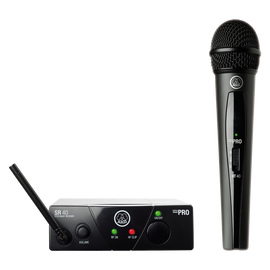 WMS40 Mini Vocal Set Band-US25-B - Black - Wireless microphone system - Hero