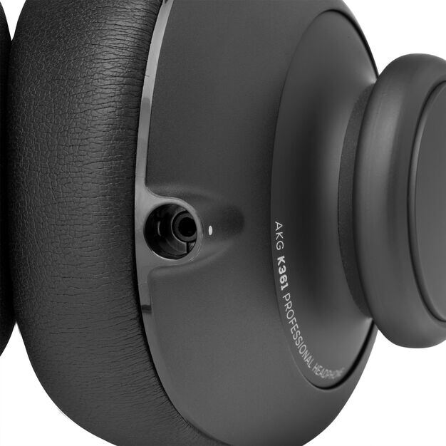 K361 - Black - Over-ear, closed-back, foldable studio headphones - Detailshot 4