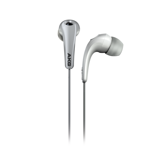 K 321 - White - Lightweight in-ear headphones with comfortable fit - Hero