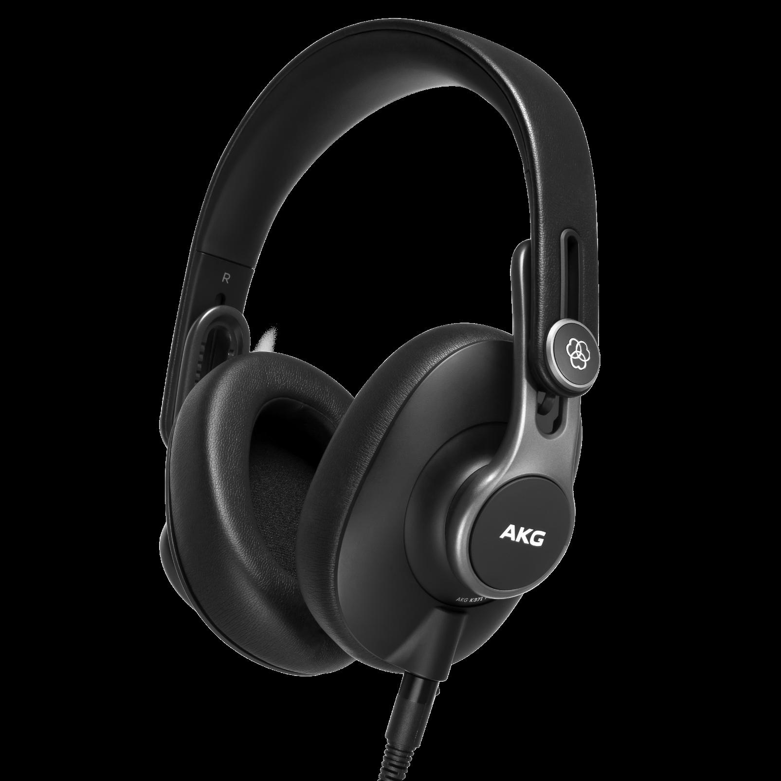 K371 - Black - Over-ear, closed-back, foldable studio headphones  - Hero