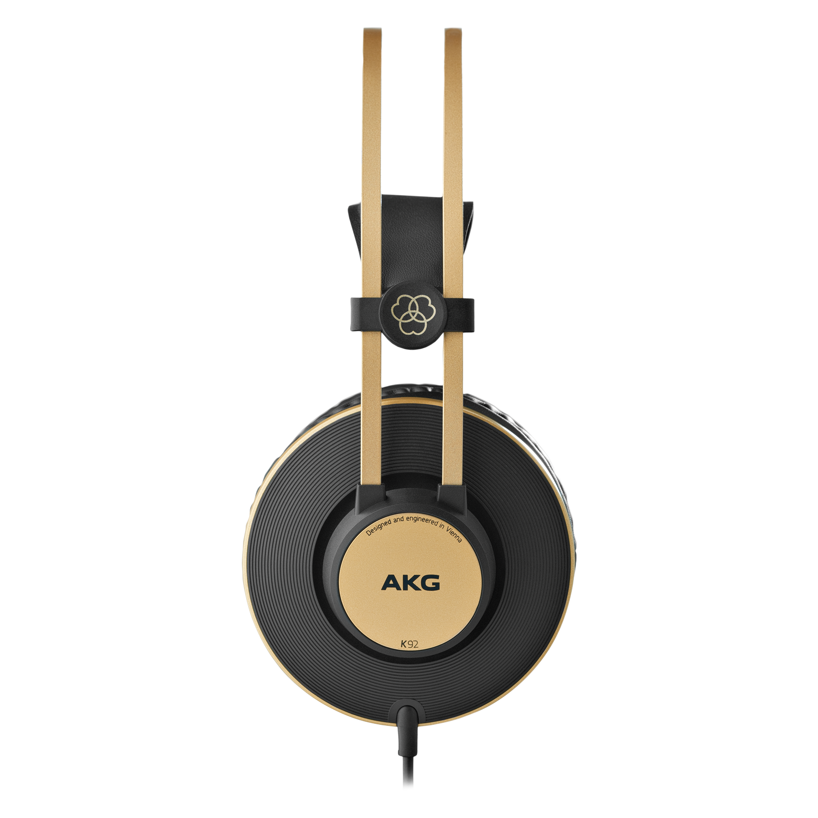 K92 - Black - Closed-back headphones - Left