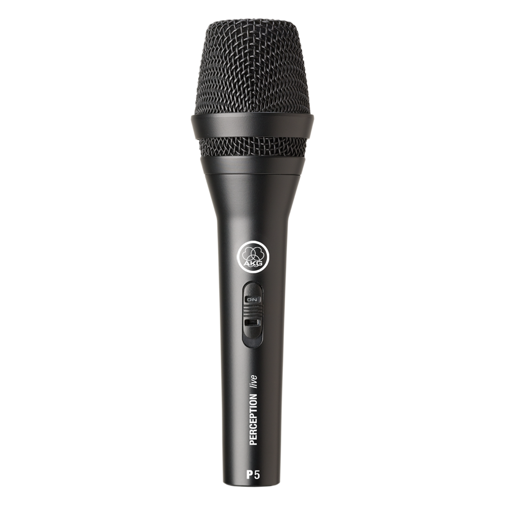 P5 S - Black - High-performance dynamic vocal microphone with on/off switch - Hero